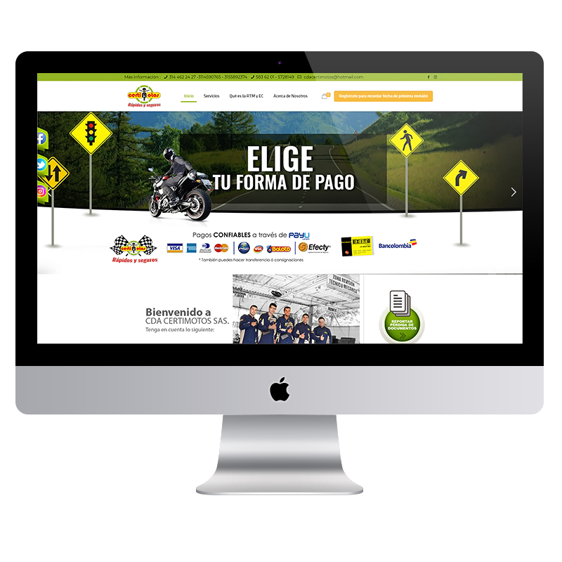 Sitio Web Colorama Agencia
