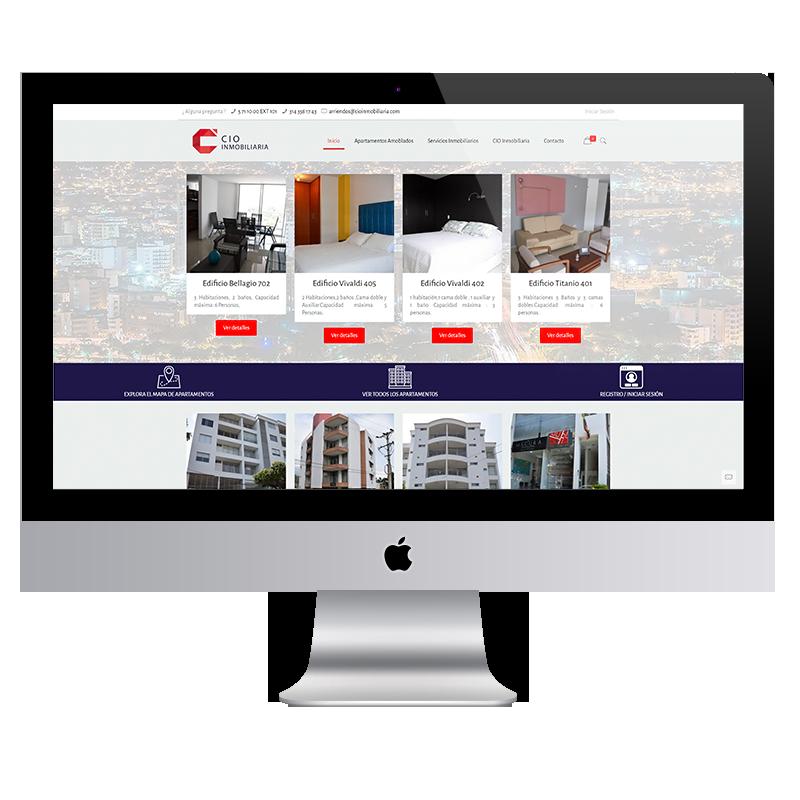 CIO Inmobiliaria Tienda Virtual Colorama Agencia