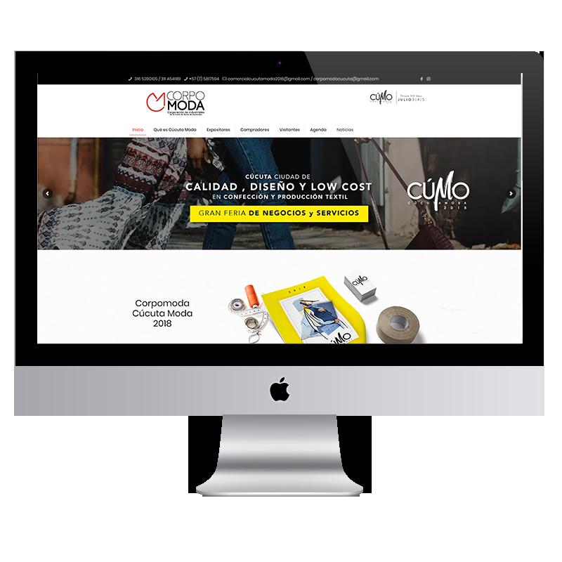 copormoda desarrollo web Colorama agencia